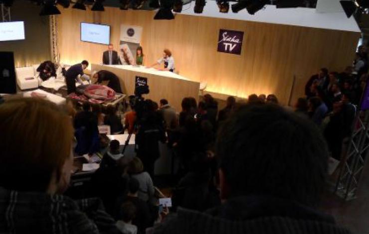 France Snacking sur la Sirha TV avec Jean-Luc Vianey et Christophe Macédo