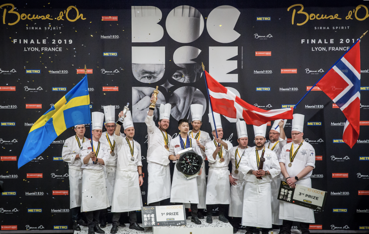 Le Danemark remporte le Bocuse d'Or 2019. La France 6e !