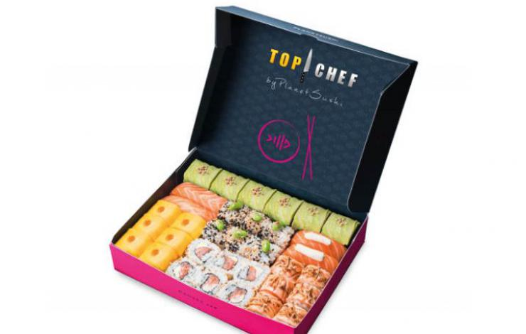 Tendance japon avec Samuel Albert et sa box Top Chef by Planet Sushi