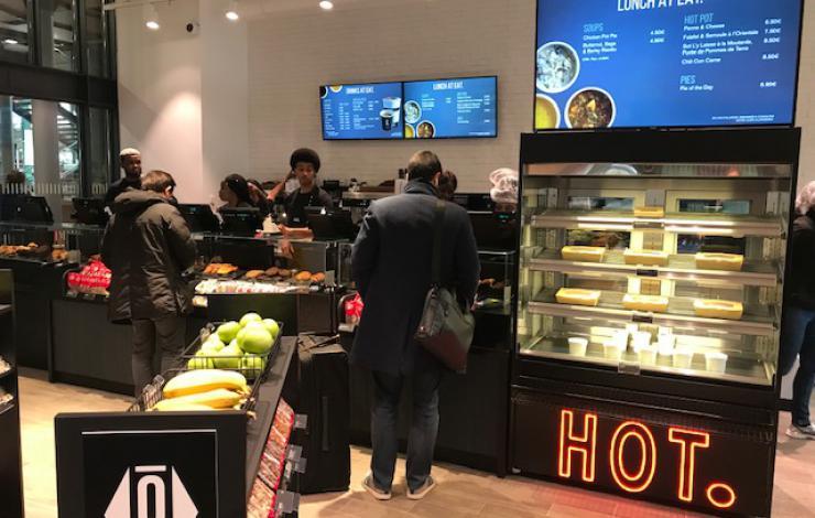 Restauration : Fréquentation en hausse en rapide en 2018, MAIS - 4 % au déjeuner