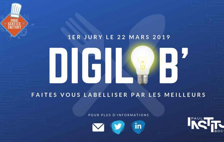 Les candidatures au DigiLAB' de l'Institut Paul Bocuse et de Food Service Factory sont ouvertes