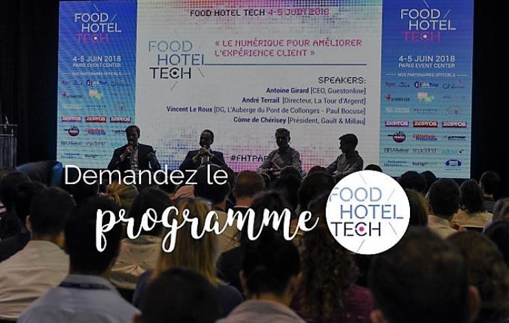 Food Hotel Tech Paris 2019 : Demandez le programme !