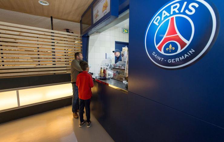 Le PSG lance un appel d'offres pour renouveler son expérience food