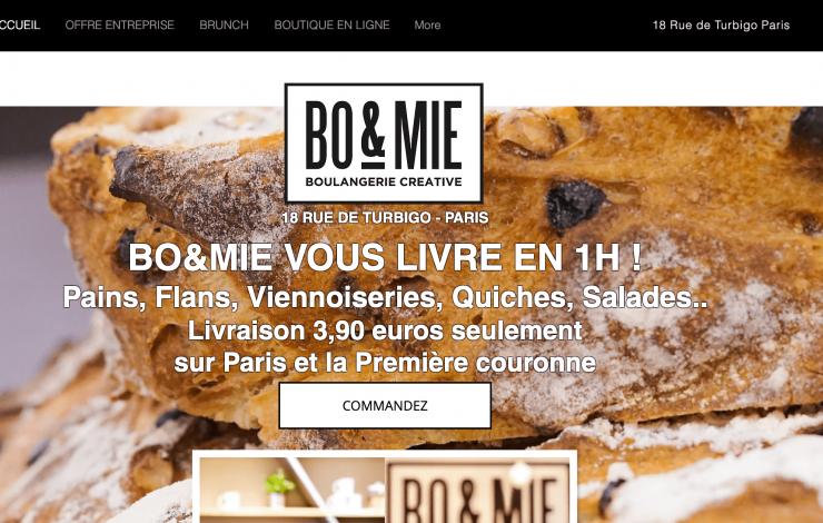 La boulangerie BO&MIE étend son offre de livraison à Paris