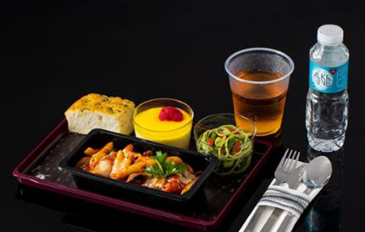 Quisine Qatar Airways catering aérien