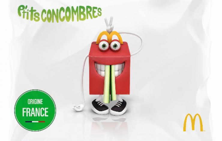 mcdonald's happy meal big fernand speed burger