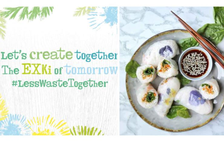 Exki #lesswastetogether campagne en vue de réduire le gaspillage alimentaire en restauration
