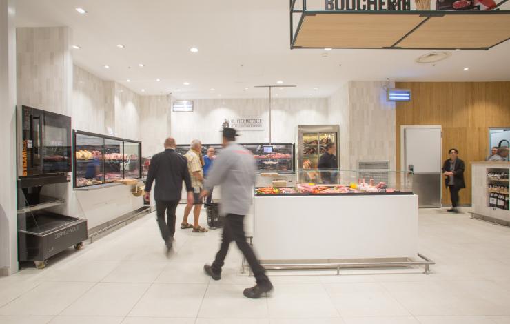 monoprix cap 3000 food court Saint-Laurent du Var local et services digitaux dans la food