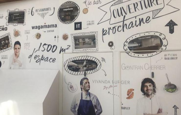 ADP Connect 2020 Aéroport mutation de l'offre restauration proposée aux voyageurs avec le snacking