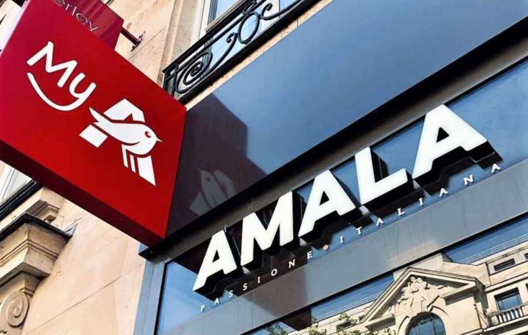 Amalala, concept street food à l'Italienne à Paris en proxi chez My Auchan