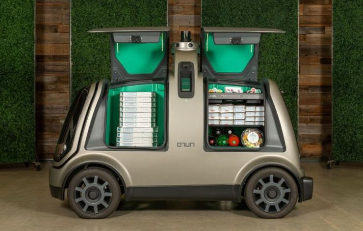 Voiture autonome livraison food restauration Food Use Tech Just Eat France