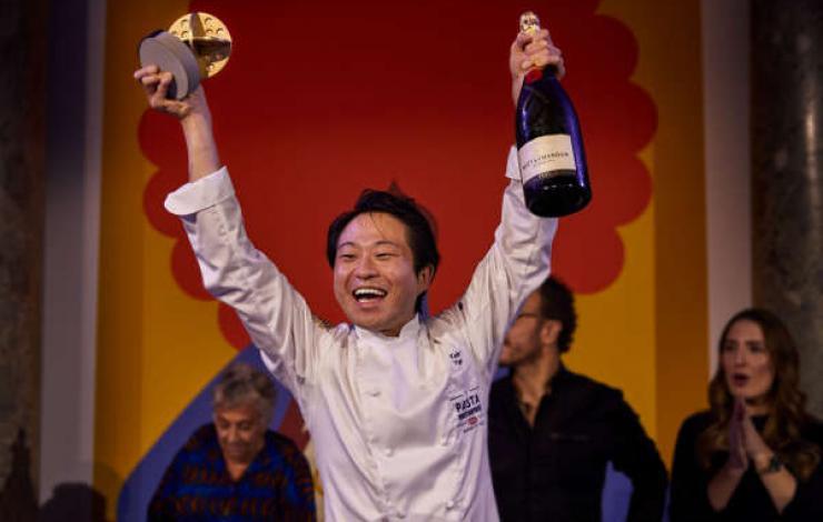 Master of Pasta Barilla, le Japonais Yuge Keita, remporte le Championnat Mondial des pâtes