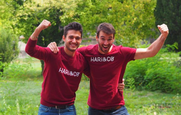 Hari&Co  levée de fonds - snacking d'or 2019 - protéines végétales