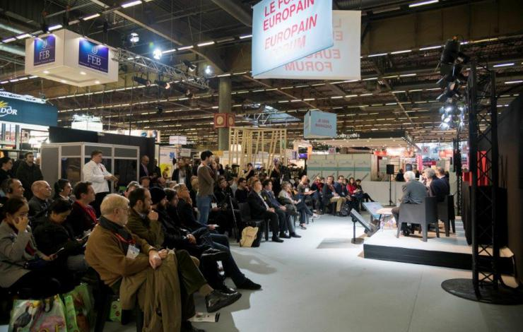 Europain 2020 Forum Snacking animé par la rédaction de France Snacking et Honoré le Mag