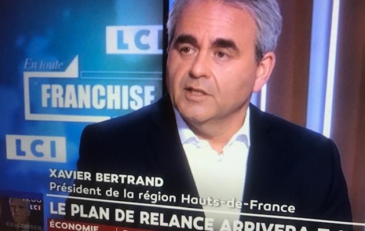 Xavier Bertrand LCI En toute franchise