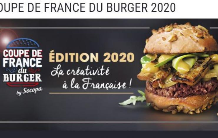 Coupe de France du Burger by Socopa 2020 - atelier des Chefs