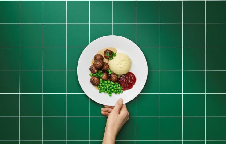 ikea boulette végétale