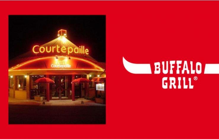 Buffalo Grill acquiert le réseau Courtepaille