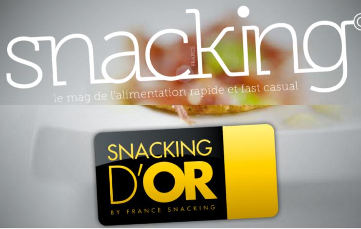 cahier spécial innovation snacking d'or 2020 - le palmarès