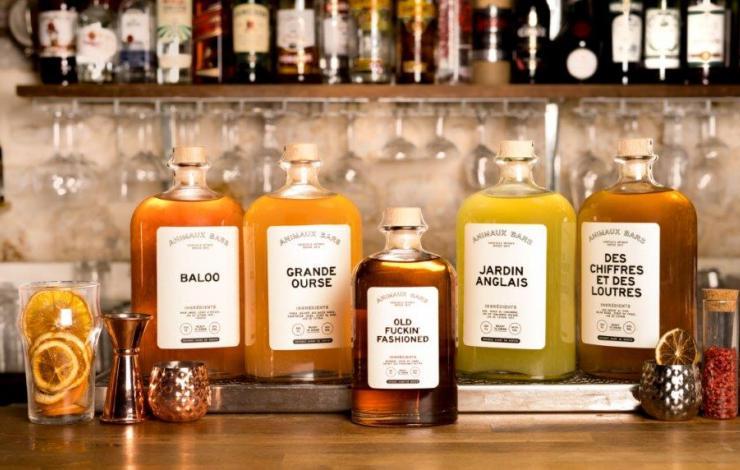 Animaux Bars Deliveroo livraison de cocktails déjà prêts à paris