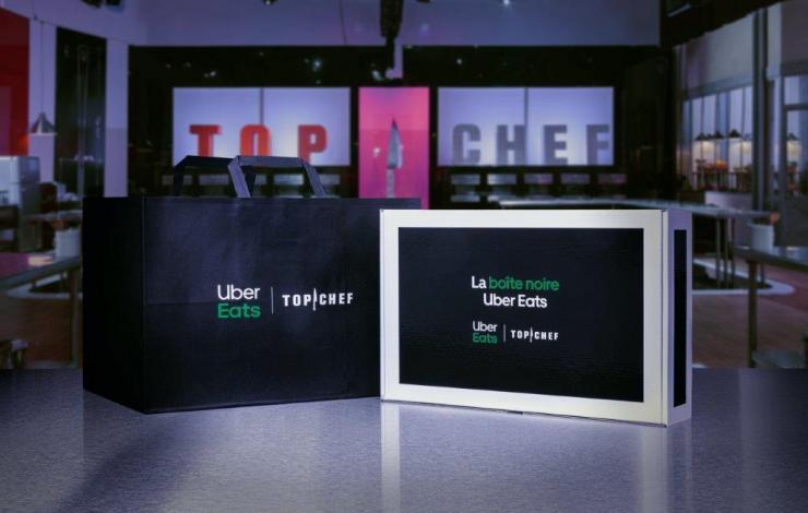 9 semaines de 'boîtes noires' Top Chef Chef livrées à domicile avec Uber Eats