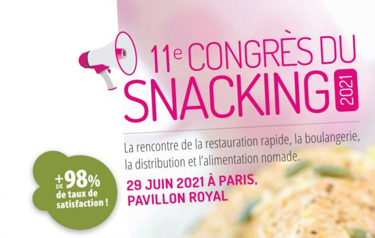 congrès du snacking salon conférence restauration france snacking