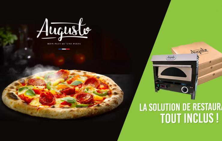 Augusto Pizza, la solution de snacking qualitative pour booster votre activité de façon pérenne