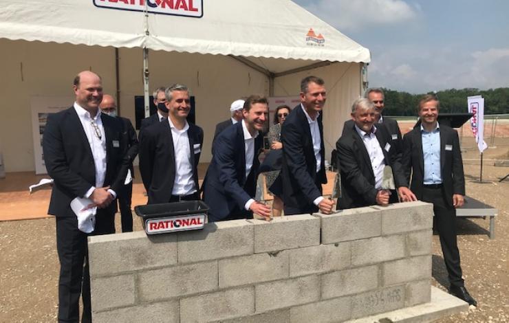 Rational pose la 1re pierre de sa nouvelle usine de Wittenheim nommée WAW et va fêter son 50 000e iVario