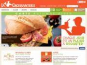 Un nouveau site internet pour La Croissanterie