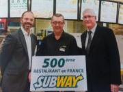 Subway, la 500è en France