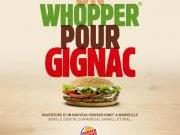 Burger King ouvre son n°2 à Marseille et tacle Gignac