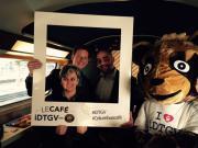 Columbus, iDTGV et LSG Linéaris célèbrent leur partenariat à bord des trains