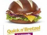 Quick lance un burger en pain bretzel