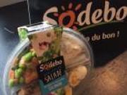 Sodebo lance une nouvelle gamme de salades Atelier Salade et des sandwichs au pain italien
