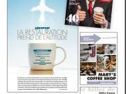 Boissons chaudes et Restauration en aéroport au sommaire de France Snacking n° 40