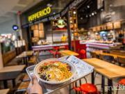 Pepperico roule pour le burrito mexicain