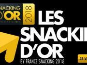 Snacking d'Or 2018 : dernier jour pour présenter vos innovations !