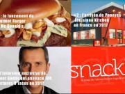 Votre TOP 10 des articles les plus lus sur snacking.fr en 2017