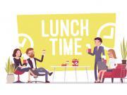 Déjeuner en terrasse ou sandwich devant l'écran, les habitudes des cadres français