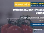 Déjà 145 candidatures pour «Mon Restaurant Durable» de METRO et Tudigo
