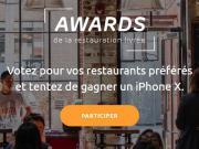 Awards de la restauration livrée, jusqu'au 30 septembre pour voter