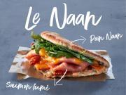 Pomme de Pain habille sa carte pour l'hiver avec notamment le sandwich Naan
