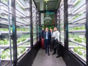 METRO inaugure le premier potager urbain indoor à Nanterre