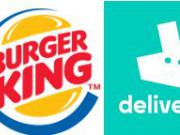 Burger King France roule avec Deliveroo