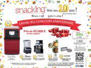 Spécial 10 ans, France Snacking lance son grand jeu anniversaire