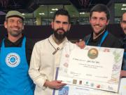 La Hard Rock café Team Lyonnaise, championne du World Burger Contest au Sirha