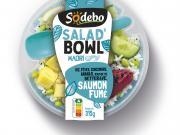 Cap sur la santé-nutrition pour Sodebo avec ses 4 premiers Salad'Bowl