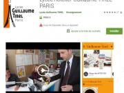 Le Lycée Guillaume Tirel PARIS lance son application pour mobile