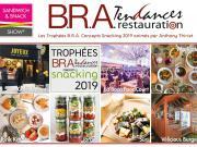 Les Trophées B.R.A. Concepts Snackingrécompensent 7 concepts