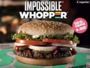 L'Impossible Whopper, le burger 100 % végétal testé par Burger King